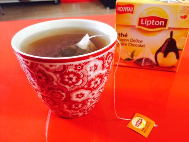 hé façon Délice Poire Chocolat - Lipton 3